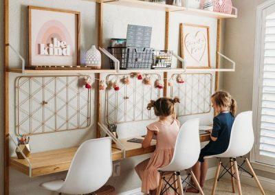 Aménager un bureau pour un enfant